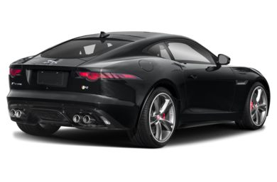 3/4 Rear Glamour  2019 Jaguar F-TYPE