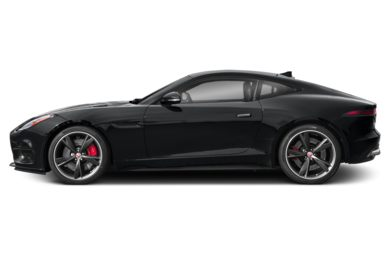 90 Degree Profile 2019 Jaguar F-TYPE