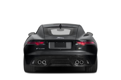 Rear Profile  2019 Jaguar F-TYPE