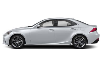 90 Degree Profile 2019 Lexus IS