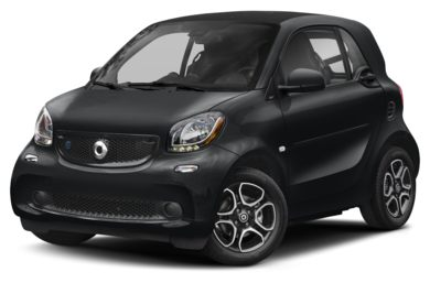 3/4 Front Glamour 2018 smart fortwo electric drive