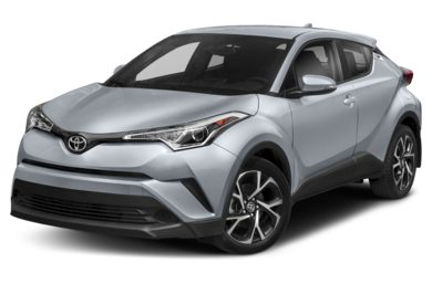 3/4 Front Glamour 2019 Toyota C-HR