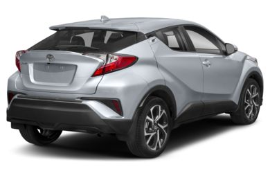 3/4 Rear Glamour  2019 Toyota C-HR