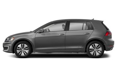 90 Degree Profile 2018 Volkswagen e-Golf