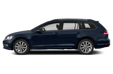 90 Degree Profile 2018 Volkswagen Golf SportWagen