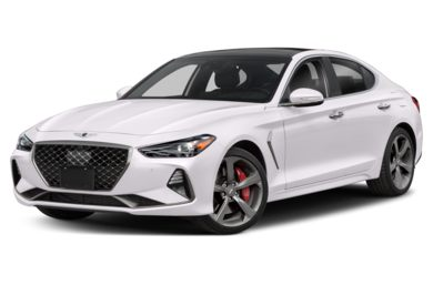 3/4 Front Glamour 2019 Genesis G70