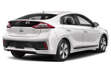 3 4 Rear Glamour 2019 Hyundai Ioniq Electric