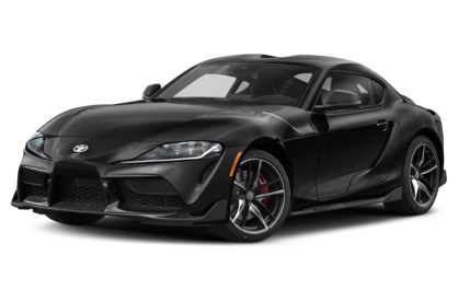 3/4 Front Glamour 2020 Toyota Supra