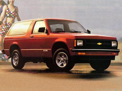 Ge 1992 Chevrolet S10 Blazer