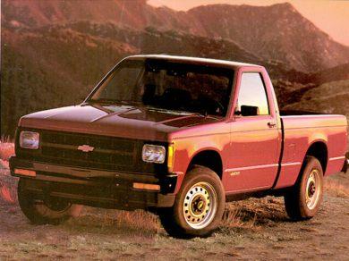 Ge 1992 Chevrolet S 10