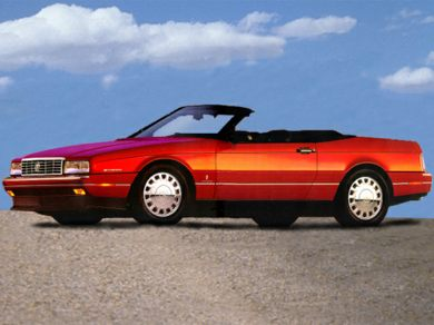 1993 Cadillac Allante Specs, Safety Rating & MPG - CarsDirect