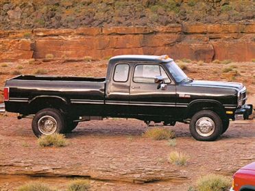 Used 1992 Dodge D250 Specs Mpg Horsepower Safety Ratings Carsdirect