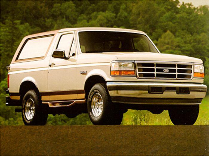 1995 ford bronco specs safety rating mpg carsdirect. Black Bedroom Furniture Sets. Home Design Ideas