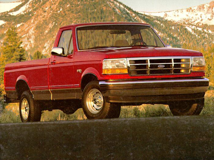 1995 ford f 150 specs safety rating mpg carsdirect. Black Bedroom Furniture Sets. Home Design Ideas