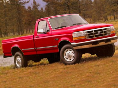 1995 ford f250 weight