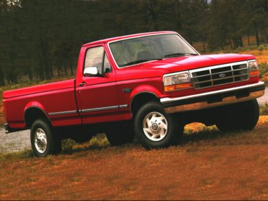 1996 ford f350 crew cab long bed length