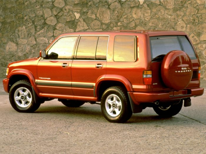 1999 Isuzu Trooper Specs Safety Rating Amp Mpg Carsdirect