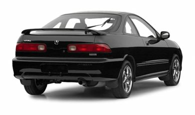 3/4 Rear Glamour  2001 Acura Integra