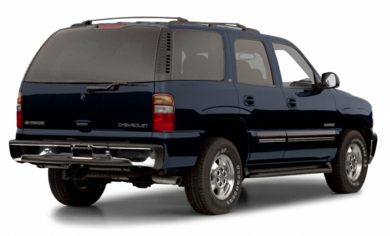 3/4 Rear Glamour  2001 Chevrolet Tahoe
