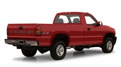 3/4 Rear Glamour  2001 Chevrolet Silverado 2500HD