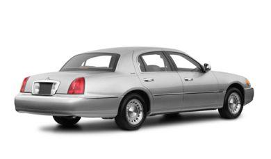 3 4 Rear Glamour 2001 Lincoln Town Car
