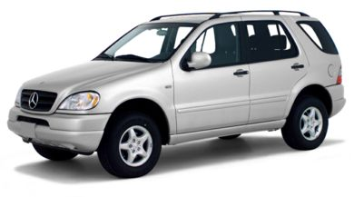 3 4 Front Glamour 2001 Mercedes Benz Ml320