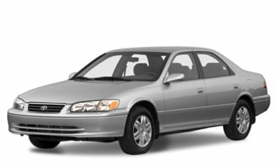 2001 Toyota Camry Colors