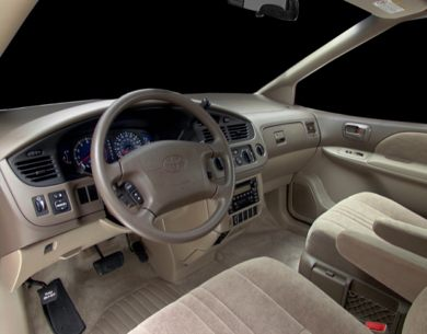 See 2001 toyota sienna color options carsdirect interior profile 2001 toyota sienna sciox Gallery