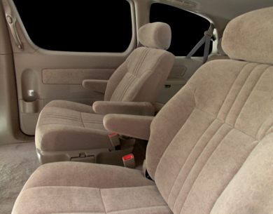 See 2001 toyota sienna color options carsdirect rear interior volume 2001 toyota sienna sciox Gallery