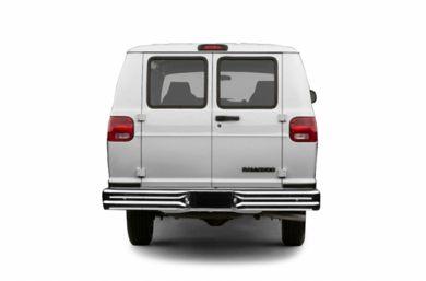 Rear Profile 2003 Dodge Ram Van 3500