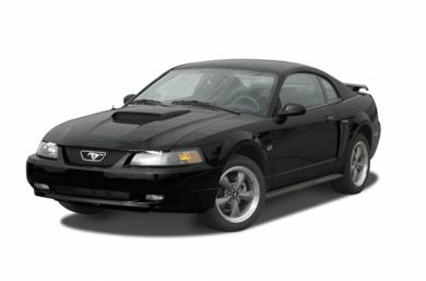 3/4 Front Glamour 2003 Ford Mustang