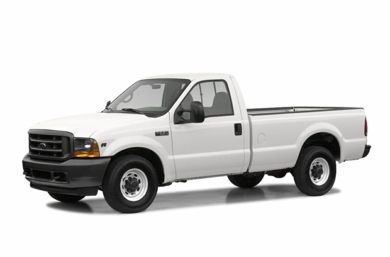3/4 Front Glamour 2003 Ford F-350