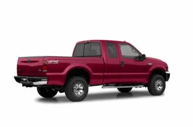 3/4 Rear Glamour  2003 Ford F-350