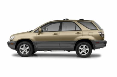90 Degree Profile 2003 Lexus RX 300