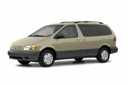 3/4 Front Glamour 2003 Toyota Sienna