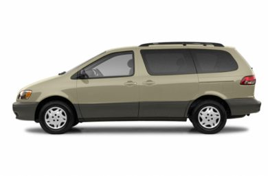 90 Degree Profile 2003 Toyota Sienna