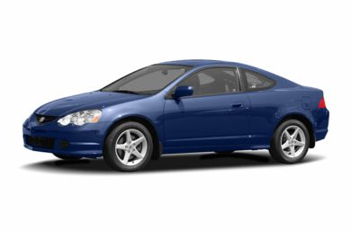 3/4 Front Glamour 2004 Acura RSX