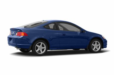 3/4 Rear Glamour  2004 Acura RSX