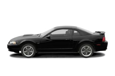 90 Degree Profile 2004 Ford Mustang