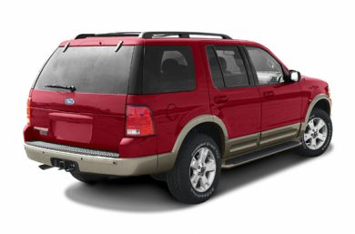 3/4 Rear Glamour  2004 Ford Explorer