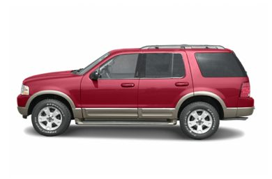 90 Degree Profile 2004 Ford Explorer