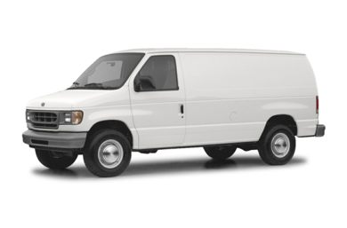 3 4 Front Glamour 2004 Ford E 250