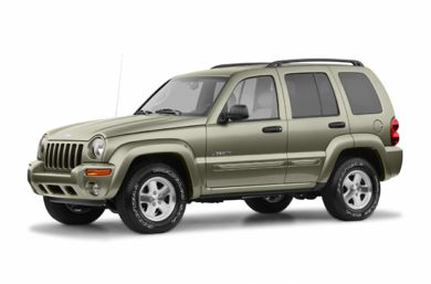 3/4 Front Glamour 2004 Jeep Liberty