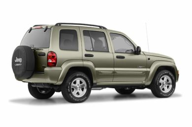 3/4 Rear Glamour  2004 Jeep Liberty