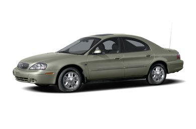 3/4 Front Glamour 2004 Mercury Sable