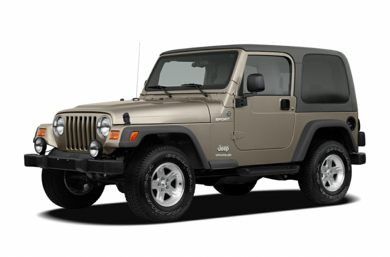3 4 Front Glamour 2005 Jeep Wrangler