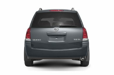Rear Profile  2005 Nissan Quest
