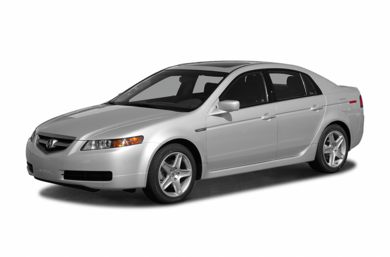 3/4 Front Glamour 2006 Acura TL