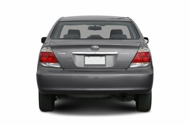 Rear Profile 2006 Toyota Camry