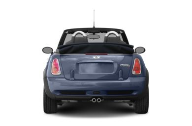 Rear Profile  2007 MINI Convertible